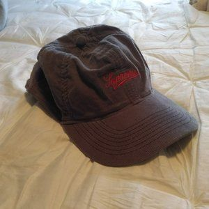 Supreme fitted corduroy hat (Large)